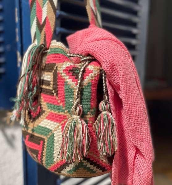 Wayuu Mochila Umhängetasche handmade