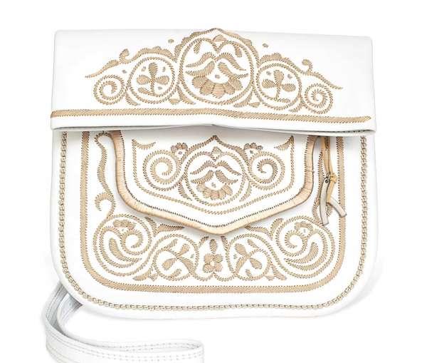 Berber Bag, weiß-beige