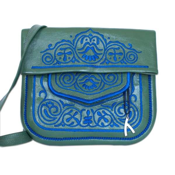 Berber Bag, grün-blau