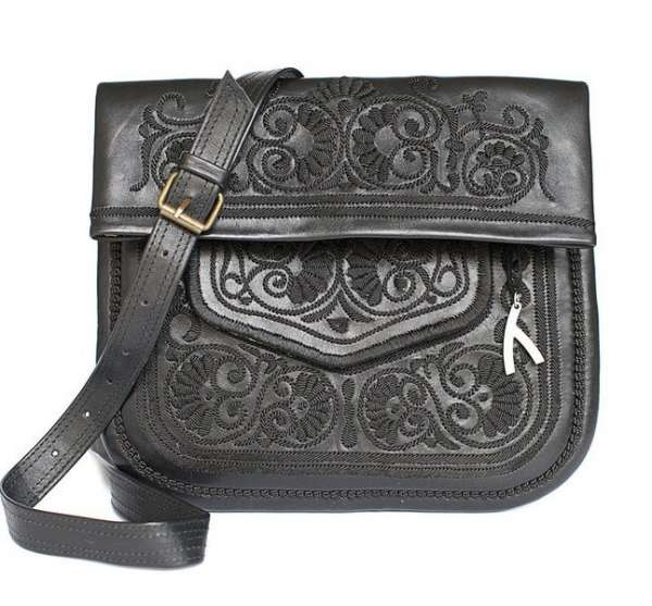 Berber Bag, schwarz