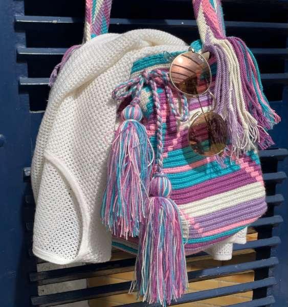Wayuu Mochila Häckeltasche handmade
