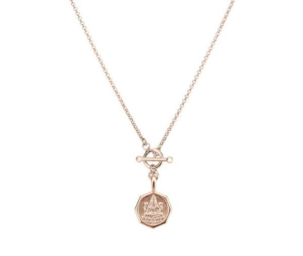 Halskette mit Liebesgöttin rosegold hofnungsträger Hamburg