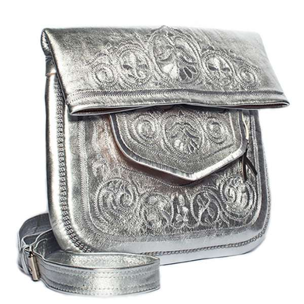 Berber Bag, silber