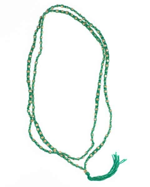 Halskette Kali, silber-türkis