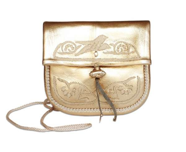 Handtasche petit, gold