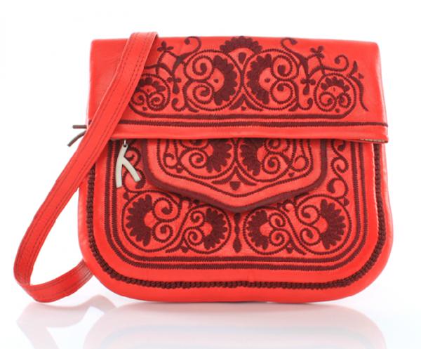 Berber Bag, feuerrot