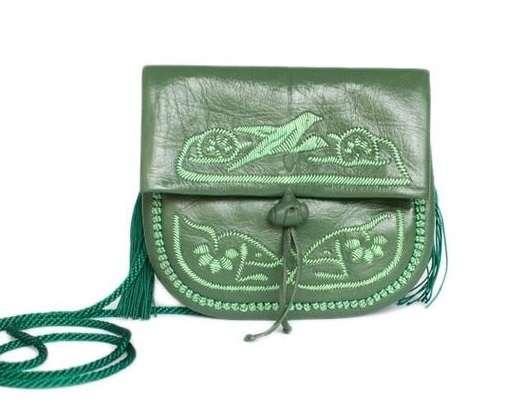 Handtasche petit, oliv