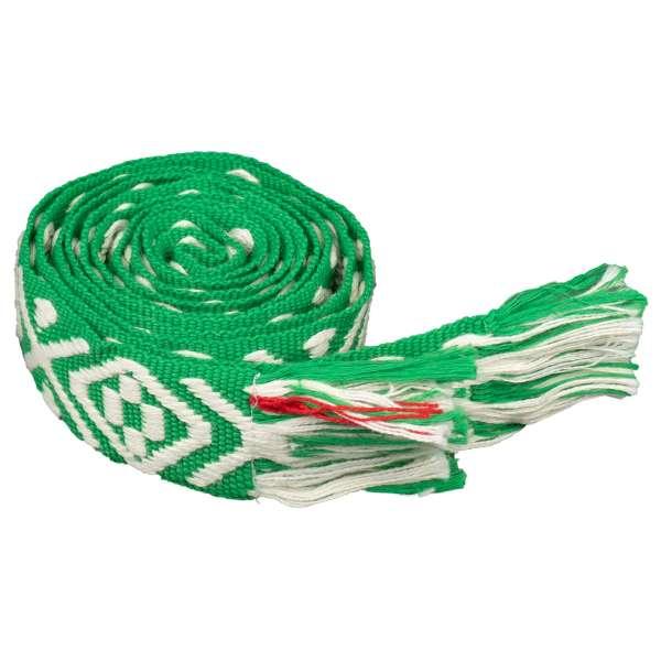 bandsofla Stoffgürtel grün