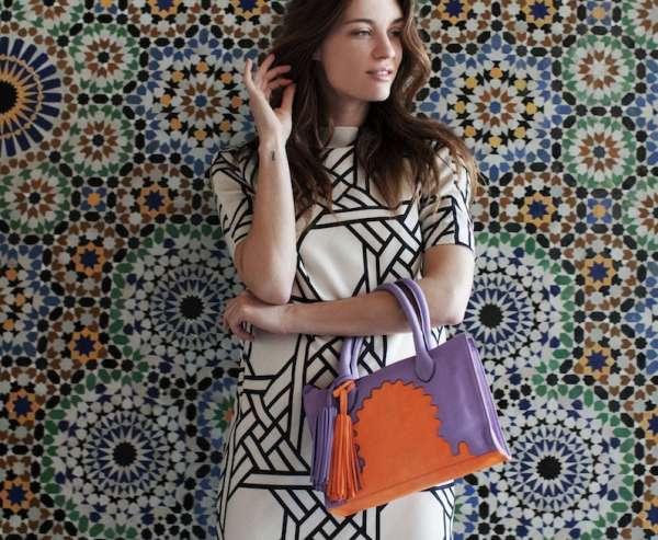 ABURY Lederhandtasche ASMA I handmade fairtrade