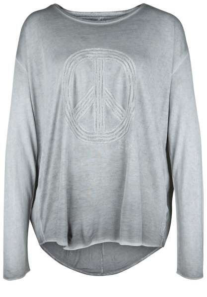 Longshirt grau Dailys yoga and home