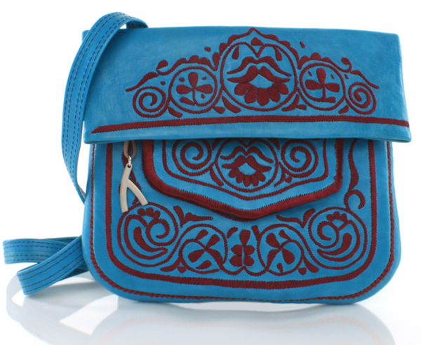 abury Berber-Bag blau green lifestyle
