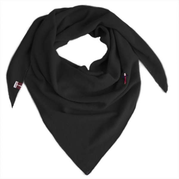 Kaschmir Dreieckstuch in schwarz