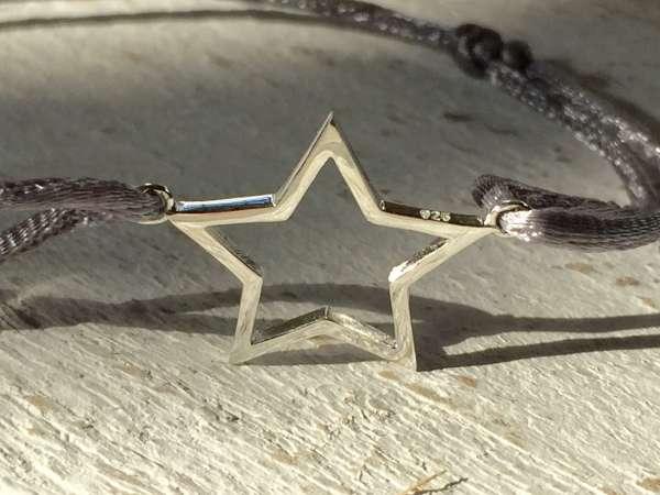 Armband mit Stern 925Silber