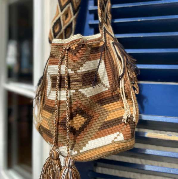 Wayuu Mochila Häkeltasche handmade
