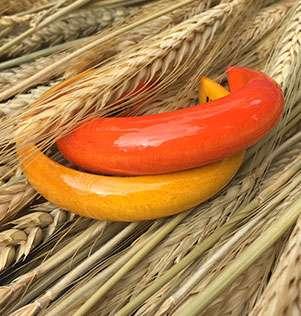 UMIWI Holzarmreifen gelb handmade