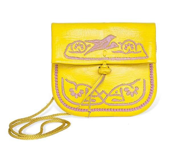 Handtasche petit, gelb