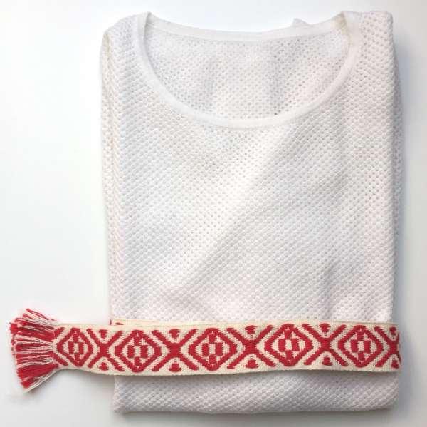 Sommerpullover mesh, weiss