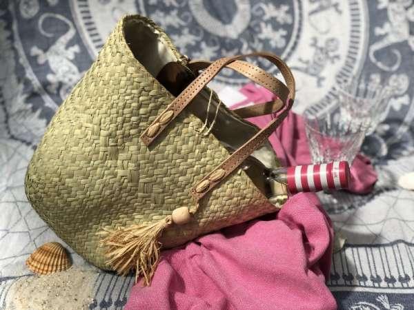 Handtasche aus Naturfasern handmade Stadt-Land-Kult