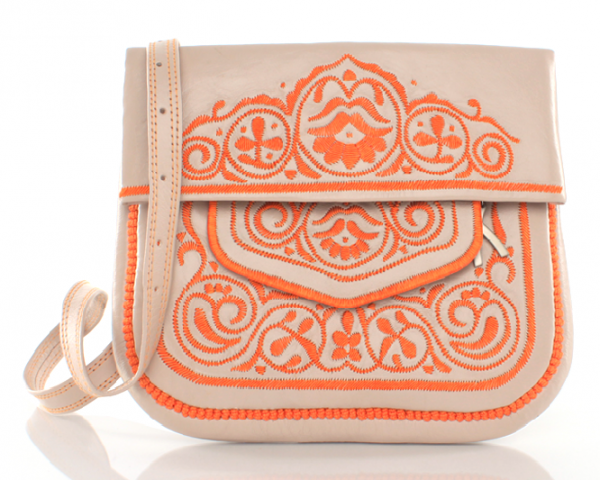 Berber Bag, beige orange