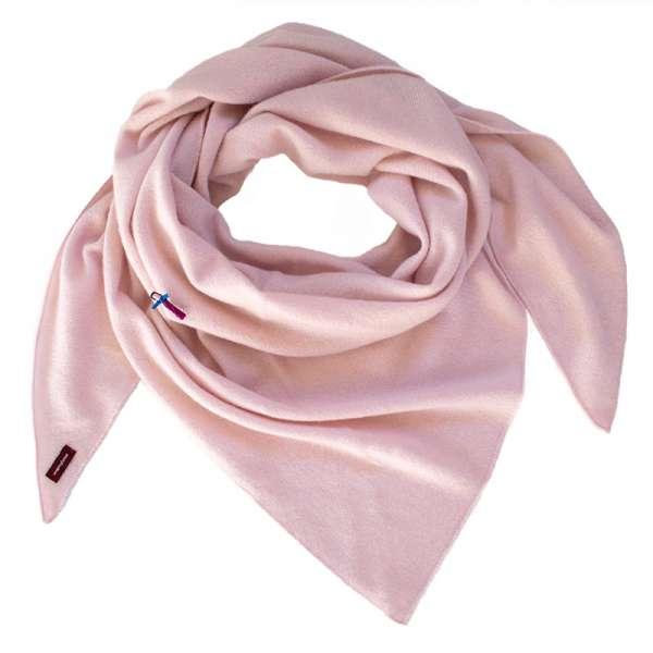 Kaschmir Dreieckstuch in rosa menfrollein